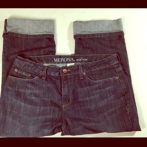 💙 Women's Merona Denim Capri Pants/Jeans